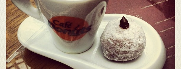 Café Donuts is one of Passwords' List.