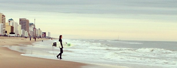 The 15 best places for surfing in virginia beach for Fishing spots in virginia beach