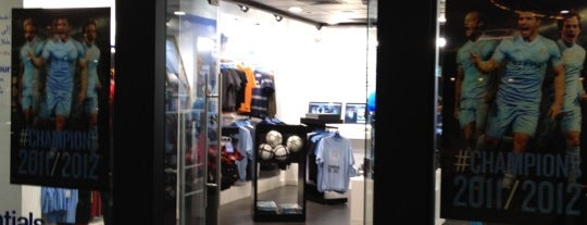 CityStore is one of MCFC venues.