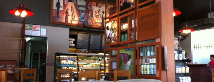 Starbucks Coffee is one of เพื่อนใหม่ปี 55.