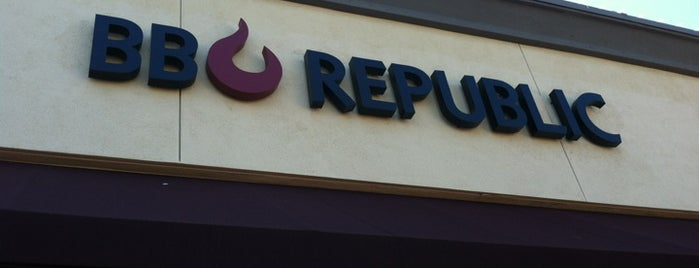 BBQ REPUBLIC is one of Great Restaurants.