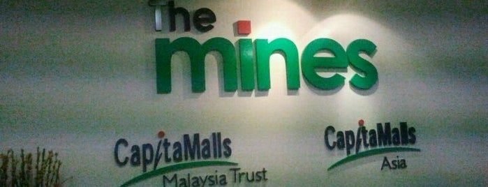 The Mines is one of Shopping Mall..