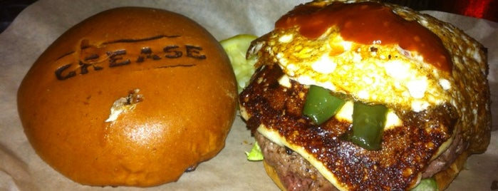 Grease Burger, Beer and Whiskey Bar is one of Seminole Club Football Game Watching Parties.