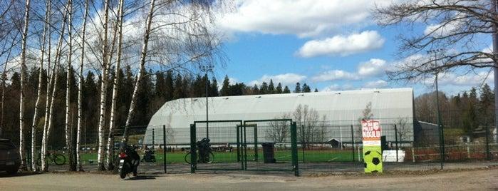 Laaksolahden jäähalli is one of Junior icehockey arenas.