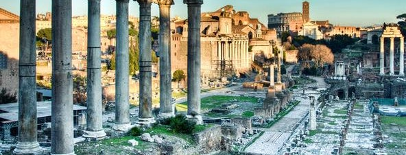 Foro Romano is one of Top 10 historical sights.