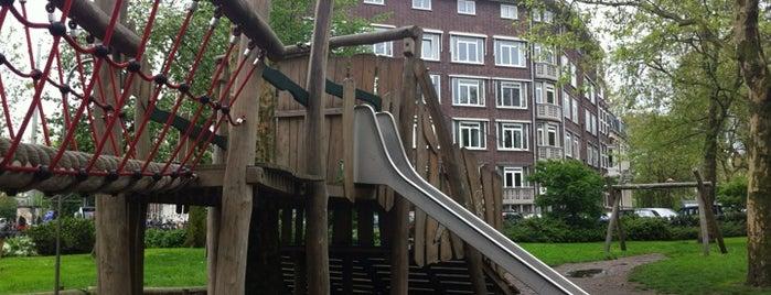Speeltuintje Weteringschans is one of Kids Guide. Amsterdam with children 100 spots.