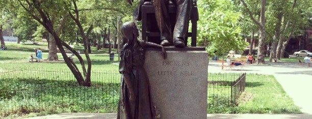 Dickens and Little Nell is one of Public Art in Philadelphia (Volume 1).