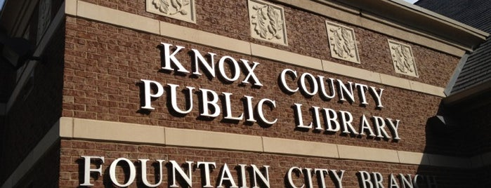 Knox County Public Library - Fountain City Branch is one of Fountain City FUN!.