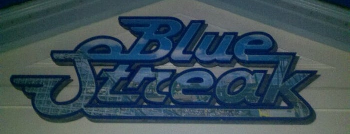 Blue Streak is one of Top picks for Theme Parks.