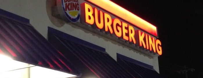 Burger King is one of restaurants/fast food.