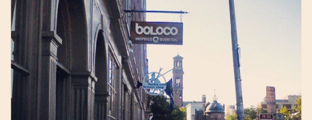 Boloco is one of Food.