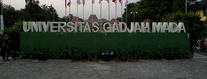 Universitas Gadjah Mada (UGM) is one of YOGYAKARTA.