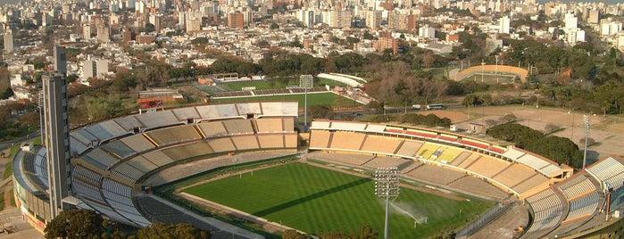 Estadio Centenario is one of Montevideo City Badge - Mateína.