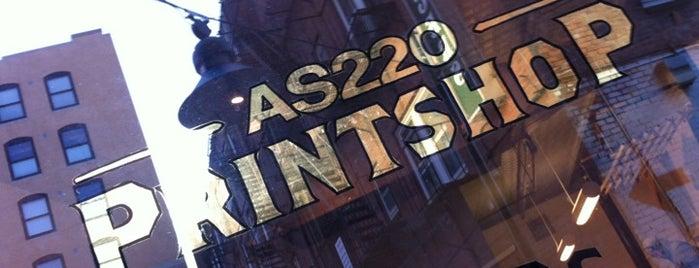 AS220 Community PrintShop is one of AS220.