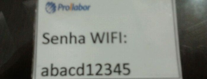 Clínica Prollabor is one of Wi-fi grátis.