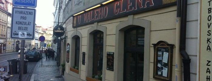 U Malého Glena is one of The best bars in Prague by Old Prague Hostel.