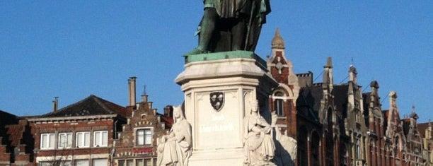 Jacob van Artevelde is one of Ghent for #4sqCities president!.