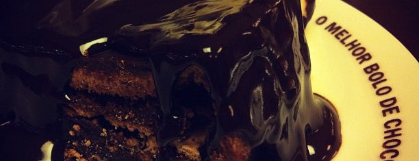 O Melhor Bolo de Chocolate do Mundo is one of Restaurantes (por danielsuco).