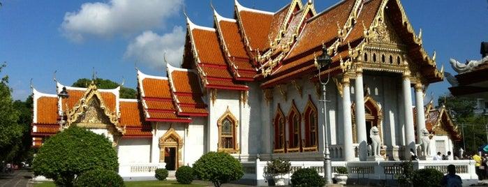 วัดเบญจมบพิตรดุสิตวนาราม (The Marble Temple) is one of Bangkok (กรุงเทพมหานคร).