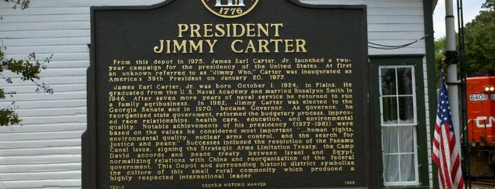 Jimmy Carter National Historic Site is one of National Parks.