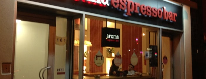 Aroma Espresso Bar is one of New York.