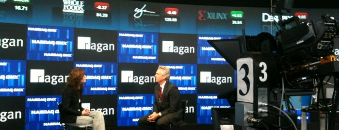 Nasdaq is one of Moderator Central.