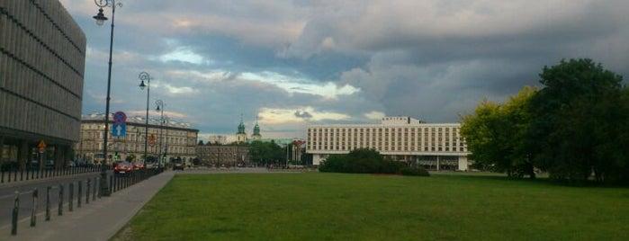 Plac Piłsudskiego is one of StorefrontSticker #4sqCities: Warsaw.