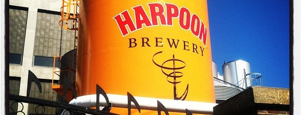 Harpoon Brewery is one of Attractions to Visit.