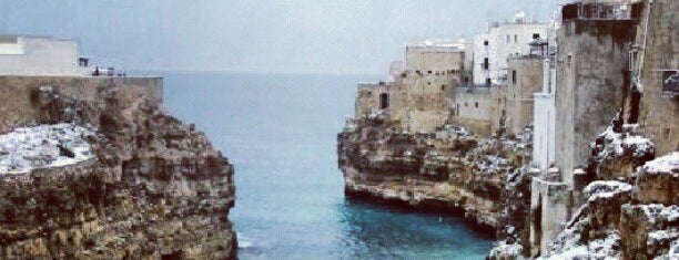 Polignano a Mare is one of 36 hours in... Puglia.