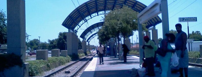 Kiest Station (DART Rail) is one of DART Blue Line.