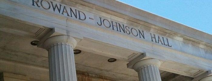 Rowand Johnson Hall is one of University of Alabama.