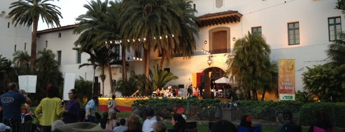 Old Spanish Days Fiesta is one of Spin the Globe in Santa Barbara.