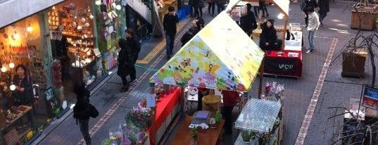 쌈지길 (Ssamzigil) is one of Seoul City Badge - Lucky Seoul.