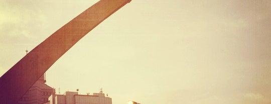 Patung Dirgantara (Patung Pancoran) is one of Enjoy Jakarta 2012 #4sqCities.