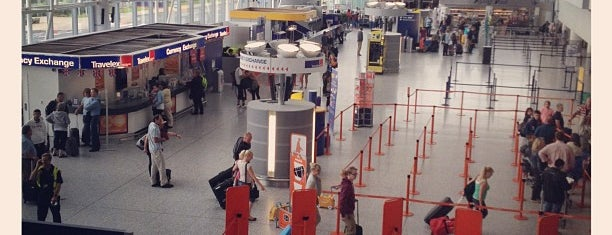 Bristol Airport (BRS) is one of Travel.