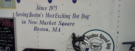 Boston Speed's Hot Dog Wagon is one of My Favorite Food Spots Around Boston.
