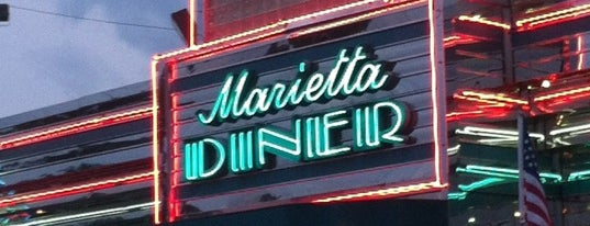 Marietta Diner is one of Atlanta 24-Hour Restaurants.