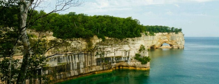 Pictured Rocks National Lakeshore is one of National Parks.