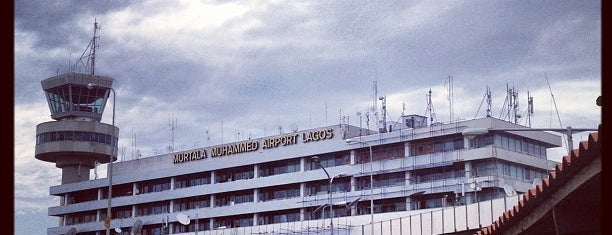 Murtala Muhammed International Airport (LOS) is one of Airports visited.