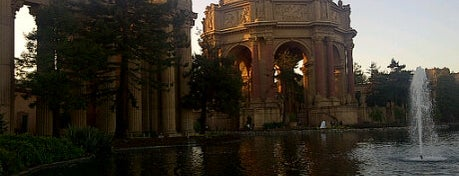 Palace of Fine Arts is one of San Francisco Favorites.