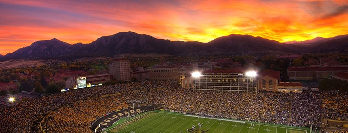 Folsom Field is one of Boulder.