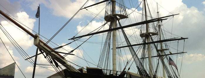 USS Constellation is one of The Great Baltimore Check-In.