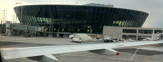 Nice Côte d'Azur Airport (NCE) is one of Airports of the World.
