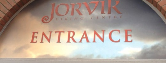 Jorvik Viking Centre is one of Inspired locations of learning.
