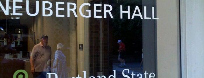 Neuberger Hall (PSU) is one of PSSSUUUU.