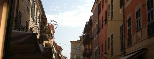 Carrugio di Loano is one of quando vado in liguria....