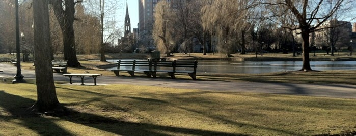 Boston Public Garden is one of Boston City Badge - Beantown.