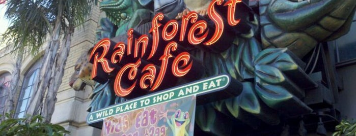 Rainforest Cafe is one of All-time favorites in United States.