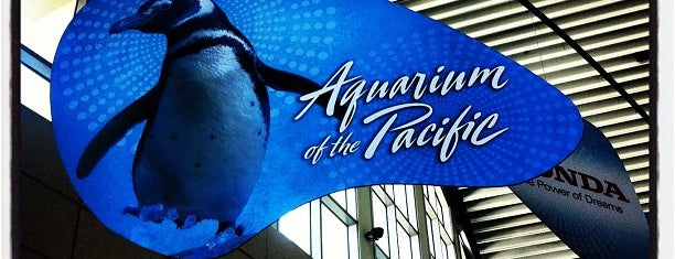 Aquarium of The Pacific is one of The Crowe Footsteps.