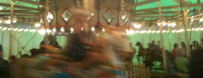 Broad Ripple Park Carousel is one of Indiana's National Historic Landmarks.